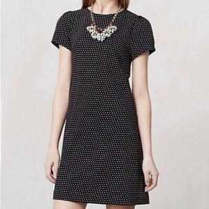 Anthropologie Maeve Polka Dot Everyday Dress